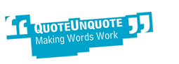 QuoteUnquote - Making Words Work